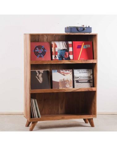 meuble vinyles bibliothèque