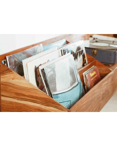 meuble pour vinyles et platine