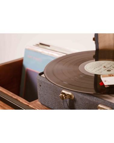 Meuble platine et vinyles